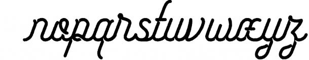 Freeday Script & Sans Font 4 Font LOWERCASE