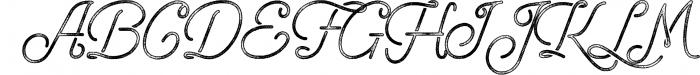 Freeday Script & Sans Font 5 Font UPPERCASE