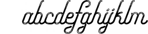 Freeday Script & Sans Font 5 Font LOWERCASE