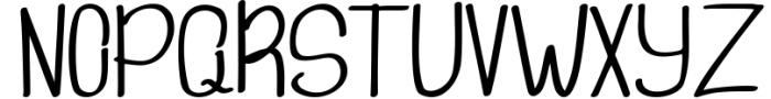 freebird handwritten font Font UPPERCASE