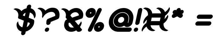 FRANKENSTEIN MONSTER Bold Italic Font OTHER CHARS