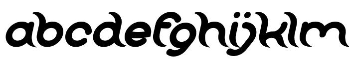 FRANKENSTEIN MONSTER Bold Italic Font LOWERCASE