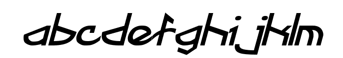 Fractyl Bold Italic Font LOWERCASE