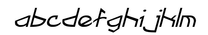 Fractyl Italic Font LOWERCASE