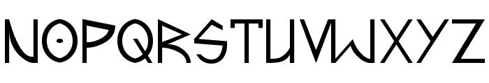 Fractyl Font UPPERCASE