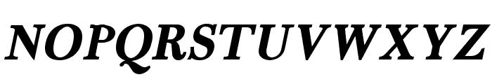 Fradley Bold Italic Font UPPERCASE