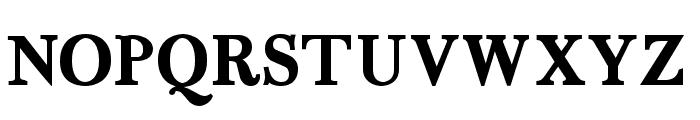 Fradley Bold Font UPPERCASE