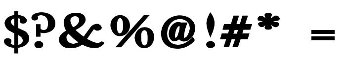 Fradley Extended Font OTHER CHARS