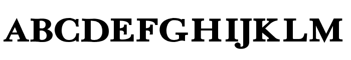 Fradley Extended Font UPPERCASE