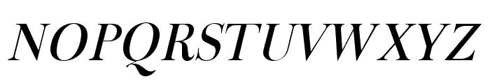 Fradley Italic Font UPPERCASE