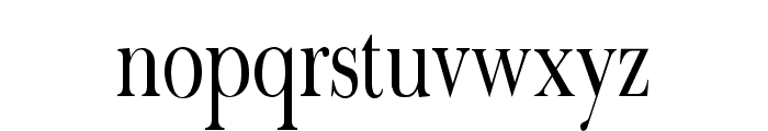 Fradley Narrow Font LOWERCASE