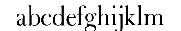 Fradley Font LOWERCASE