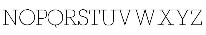 Fragment Core Roman Font UPPERCASE