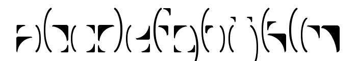 FragmentRegular Font LOWERCASE