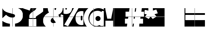 FragmentuM Font OTHER CHARS