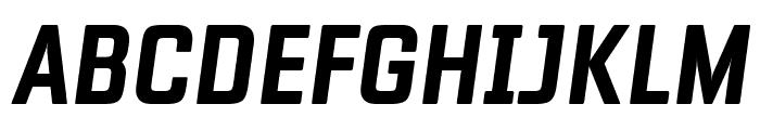 Fragua Bold Italic Font UPPERCASE