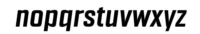 Fragua Bold Italic Font LOWERCASE