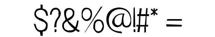 FrailSansLight Font OTHER CHARS