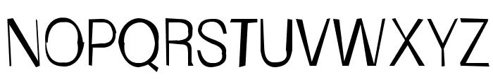 FrailSansLight Font UPPERCASE