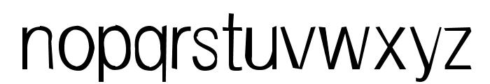FrailSansLight Font LOWERCASE