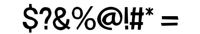 FrailSansRegular Font OTHER CHARS