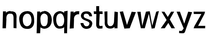 FrailSansRegular Font LOWERCASE