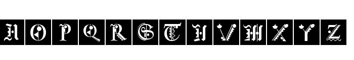 FraktKonstruct Font UPPERCASE