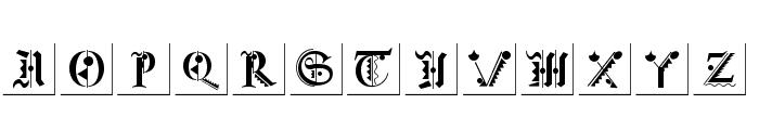 FraktKonstruct Font LOWERCASE