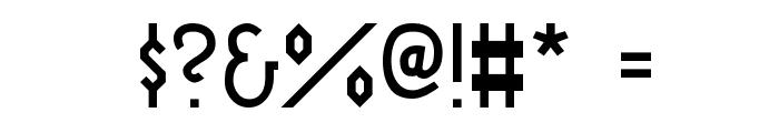 Fraktur Modern Font OTHER CHARS