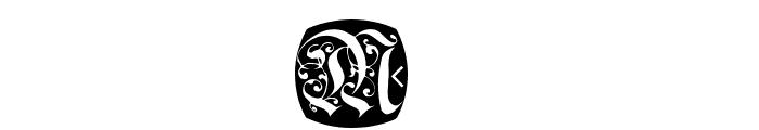 FrakturNitials Font OTHER CHARS