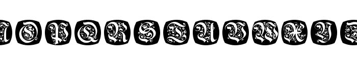 FrakturNitials Font UPPERCASE