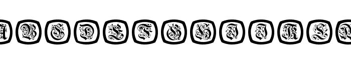 FrakturNitials Font LOWERCASE
