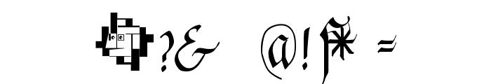 FrakturaFonteria-Slim Font OTHER CHARS