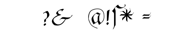 FrakturaFonteria Font OTHER CHARS