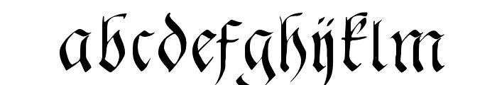 FrakturaFonteria Font LOWERCASE