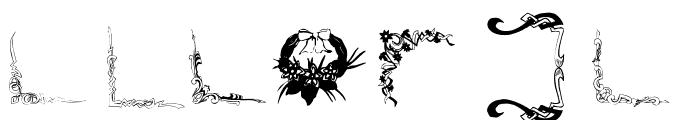 FramesAnd Font OTHER CHARS