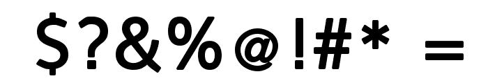 FranKleinBold Font OTHER CHARS