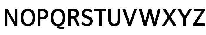 FranKleinBold Font UPPERCASE