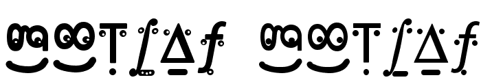 FranKleinFaces Font LOWERCASE