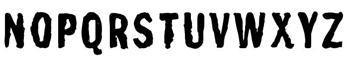 Franc Gothique Brush Font UPPERCASE