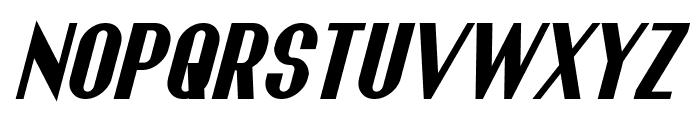 Franck Bold Italic Font UPPERCASE
