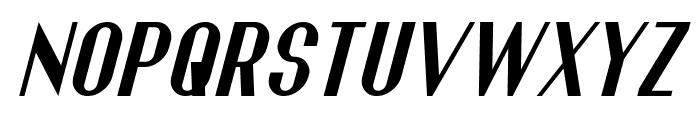 Franck Italic Font UPPERCASE
