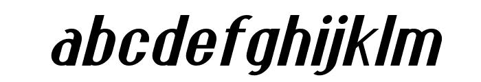 Franck Italic Font LOWERCASE