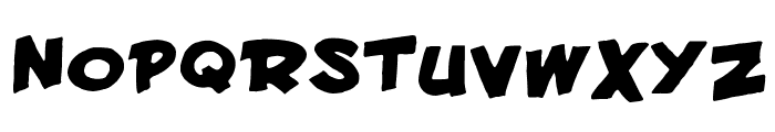 Francobelge Font UPPERCASE