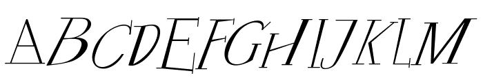 FrancofortePunk Font UPPERCASE