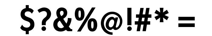 FrancophilSans-Bold Font OTHER CHARS