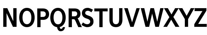 FrancophilSans-Bold Font UPPERCASE