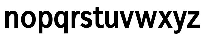 FrancophilSans-Bold Font LOWERCASE