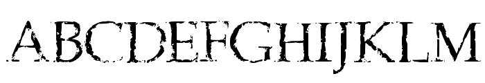 Frank Black Font UPPERCASE