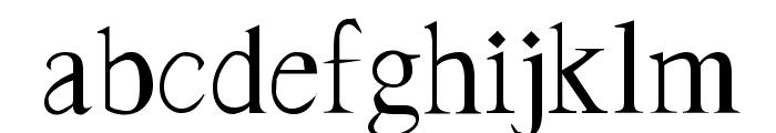 Frank Regular Font LOWERCASE